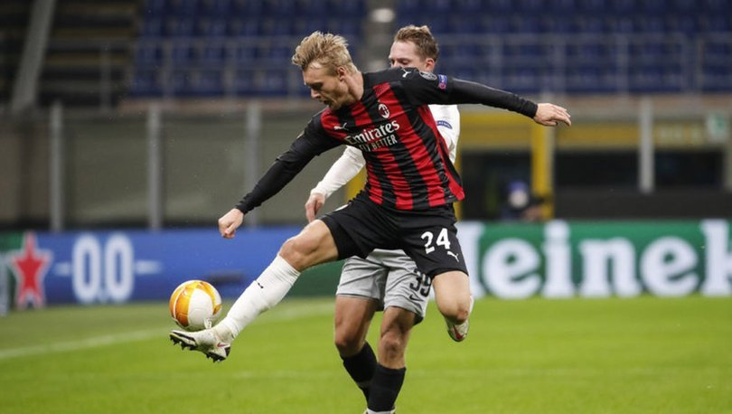 Milan: 3 -Sparta Prag: 0   MAÇ SONUCU