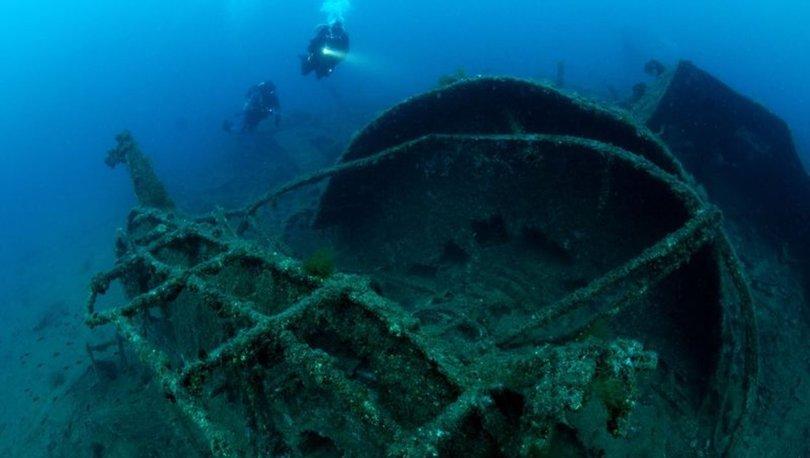 Çanakkale'de 105 yıllık batıklar, dalış turizmine açılıyor