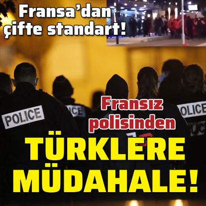SON DAKİKA FRANSA'DA DEHŞET! Fransız polisinden Türklere biber gazı! - Haberler