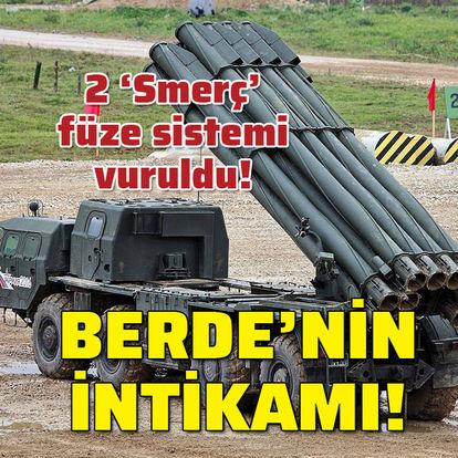 Son dakika Azerbaycan Ermenistan! 2 Smerç sistemi vuruldu! Berde'nin intikamı! - Haberler