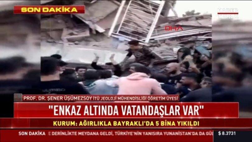 İzmir depremi son dakika! Deprem sonrası arama kurtarma çalışmaları başladı
