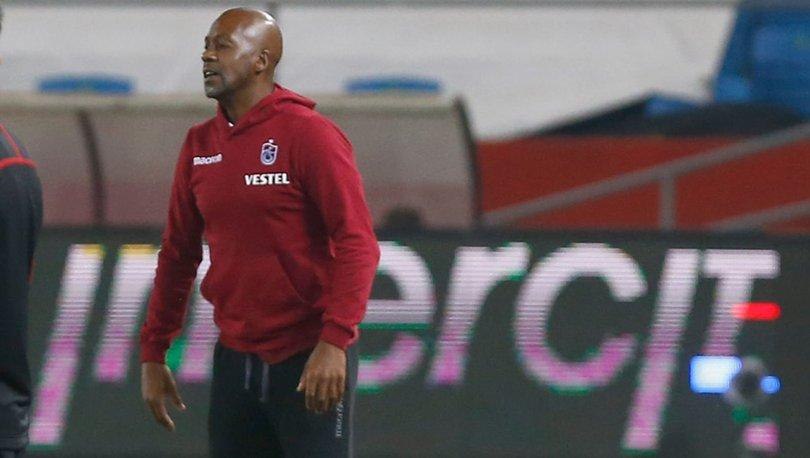 Trabzonspor'da Eddie Newton'dan istifa yanıtı