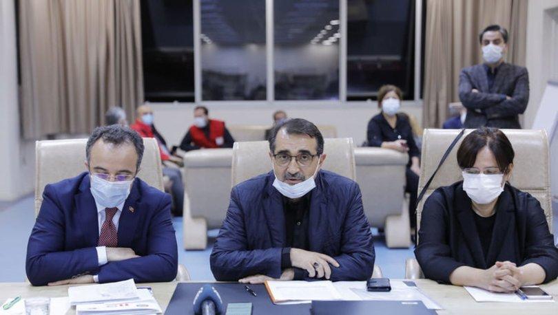 Enerji ve Tabii Kaynaklar Bakanı Dönmez, İzmir'deki depreme ilişkin açıklamalarda bulundu
