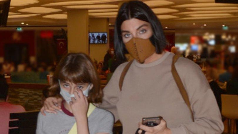 Deniz Akkaya kızı Ayşe ile alışverişte - Magazin haberleri
