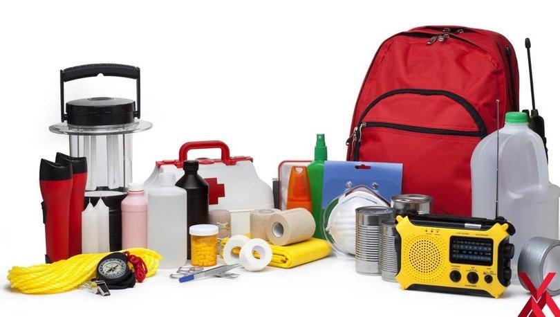 Deprem çantasında neler olmalı? İşte deprem çantası içindekiler listesi!