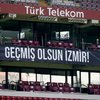 TT Stadı'nda İzmir depremi unutulmadı
