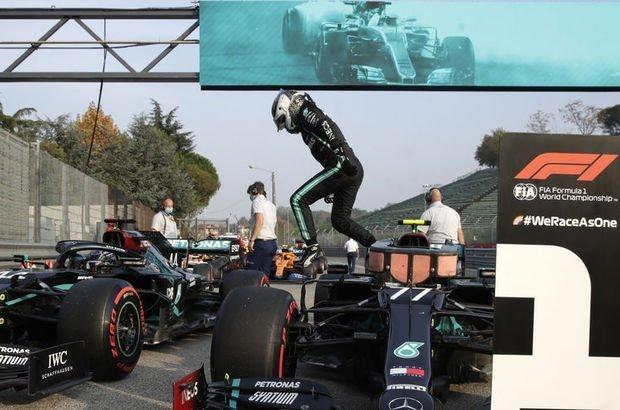 Mercedes üst üste 7. kez şampiyon