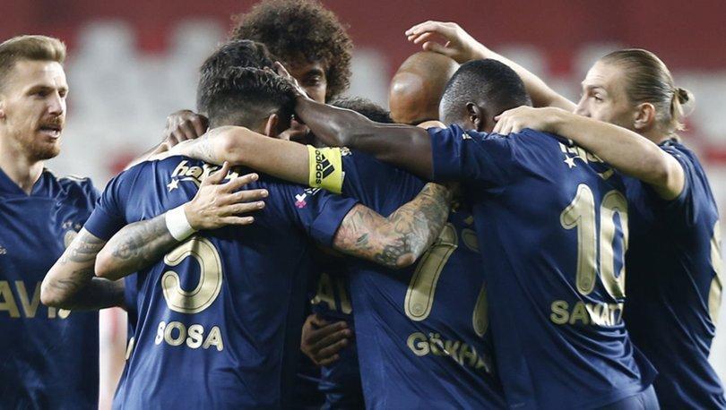 Antalyaspor: 1 - Fenerbahçe: 2 | MAÇ SONUCU