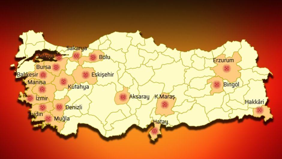 Prof. Dr. Okan Tüysüz açıkladı! İşte fay hattı üzerindeki 18 kent!