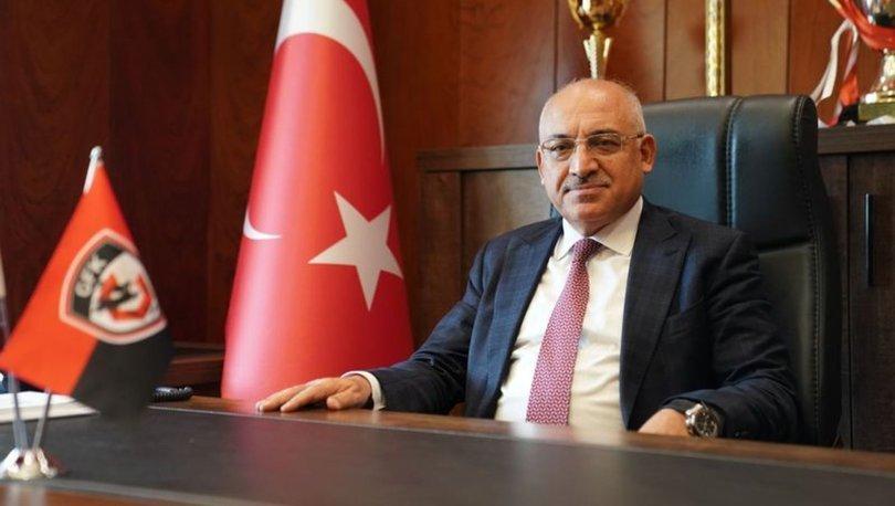 Gaziantep FK Başkanı Büyükekşi, Beşiktaş maçından umutlu: