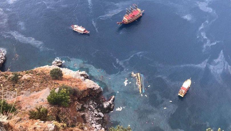 Son dakika: Antalya'da tur teknesi battı: 1 ölü! - Haberler