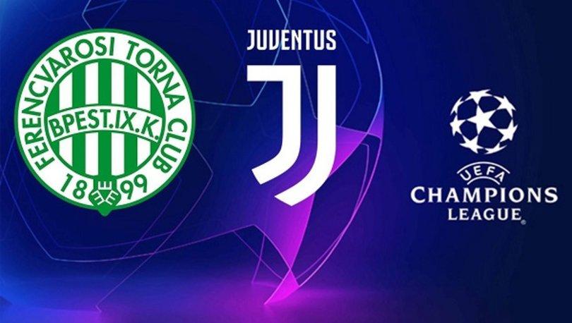 Ferencvaros Juventus maçı ne zaman, saat kaçta, hangi kanalda canlı yayınlanacak, şifresiz mi?