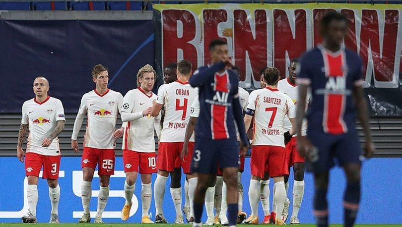 Leipzig: 2 - PSG: 1 MAÇ SONUCU