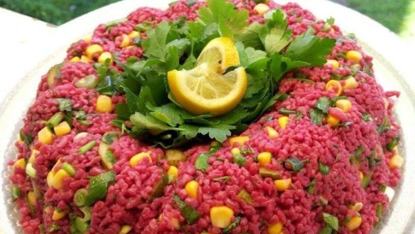 Şalgamlı bulgur salatası tarifi, nasıl yapılır?