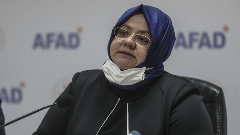Bakan Selçuk: Depremden etkilenen İzmir'de SED ödemelerini öne çektik