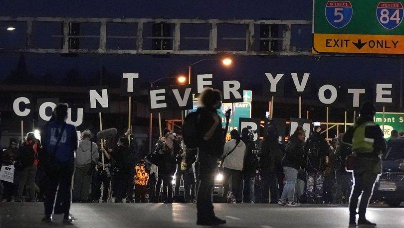 Son dakika: ABD seçimleri henüz sonuçlanmadı: Halk sokakta! - Haberler