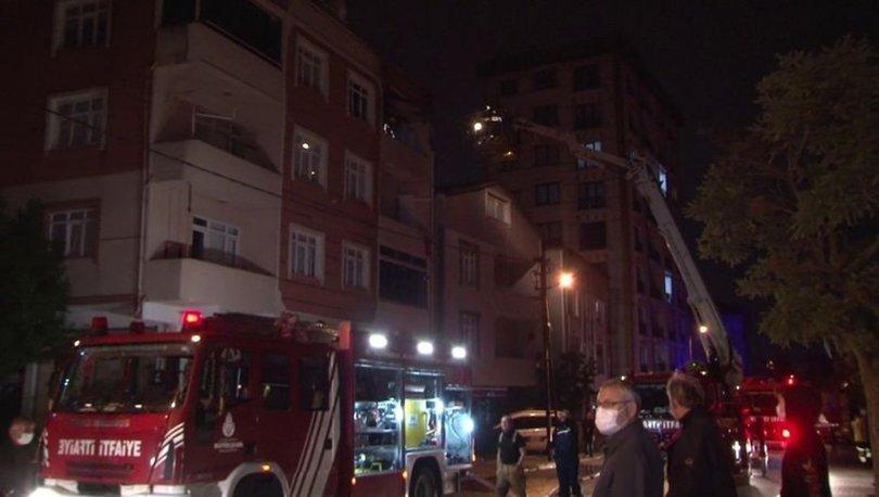 Tuzla'da apartman dairesinde korkutan yangın