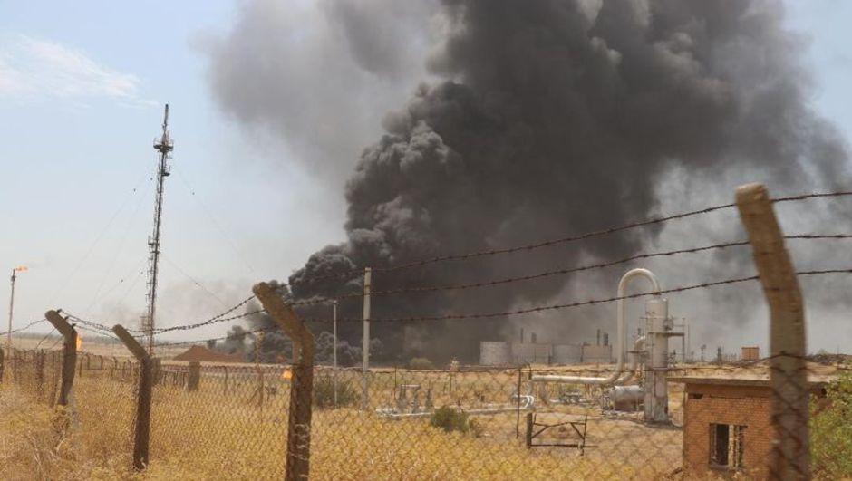 Irak'ın kuzeyi ısınıyor! Terör örgütü IKBY'ye saldırıyor