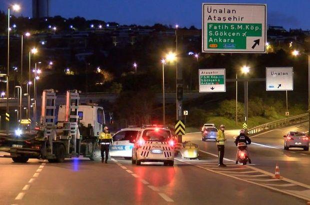15 Temmuz Şehitler Köprüsü kapatıldı