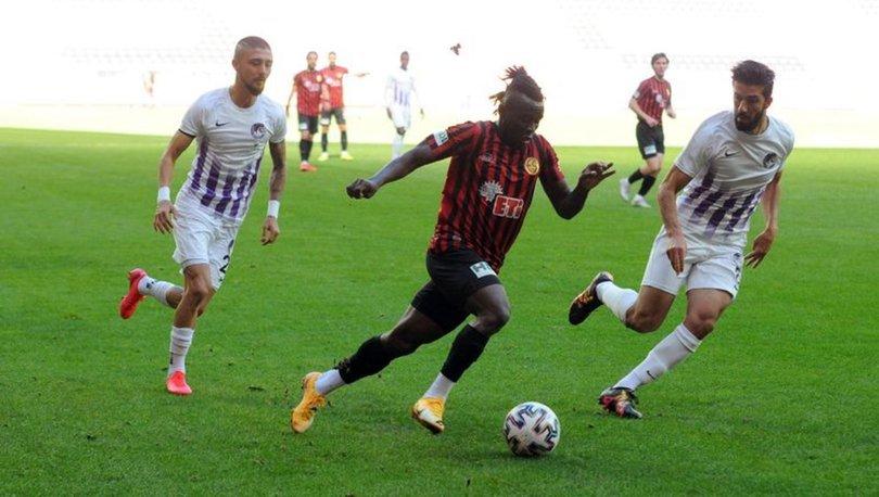 Eskişehirspor: 2 - Keçiörengücü: 2 MAÇ SONUCU