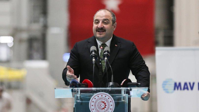 Sanayi ve Teknoloji Bakanı Varank, Kocaeli'nde temel atma ve açılış törenine katıldı: