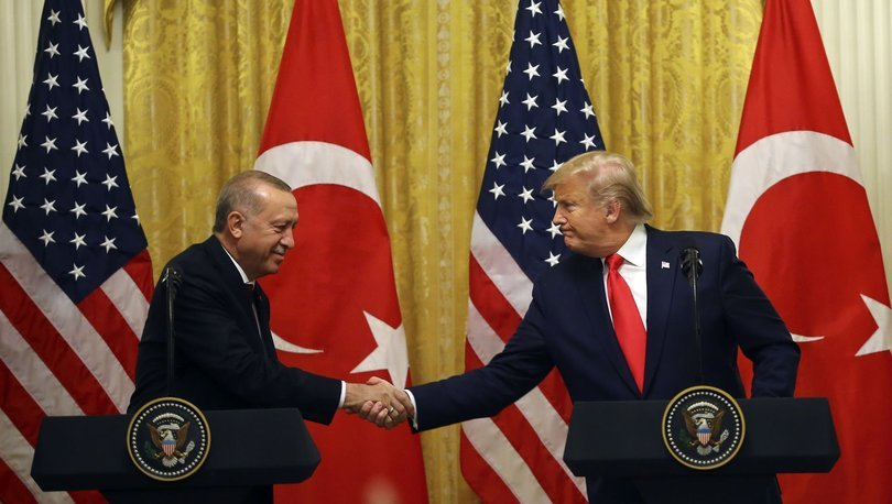 SON DAKİKA! Cumhurbaşkanı Erdoğan'dan Donald Trump'a mesaj!