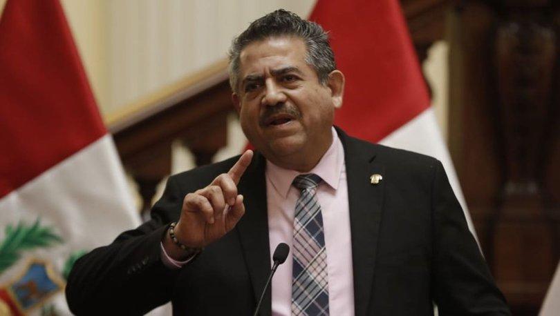 Peru'nun yeni Devlet Başkanı Manuel Merino yemin etti