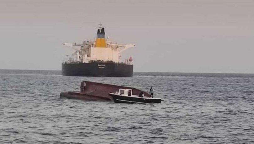 SON DAKİKA: Yunan tankeri Türk teknesiyle çarpışrtı! 4 ölü| VİDEO