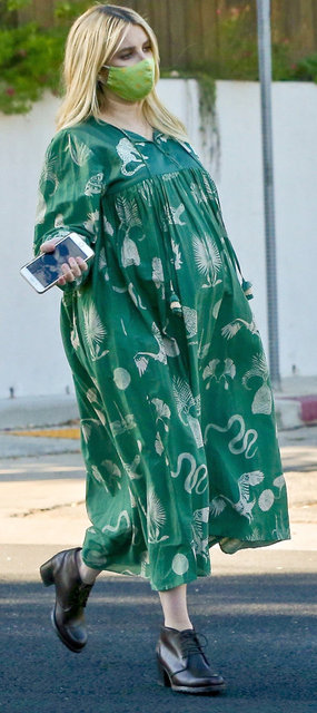 Emma Roberts'ın bebeği göründü - Magazin haberleri