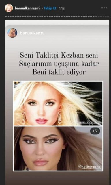 Banu Alkan'dan Kylie Jenner paylaşımı: Korkudan mesajlara da bakıyor - Magazin haberleri