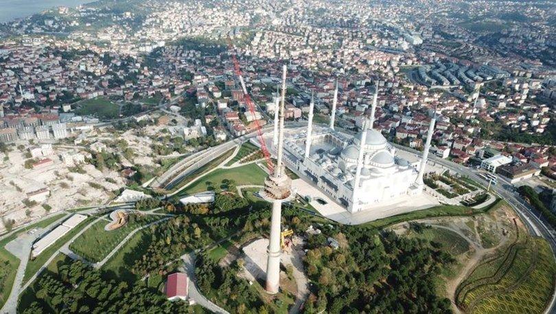 Çamlıca'daki son kule de sökülüyor