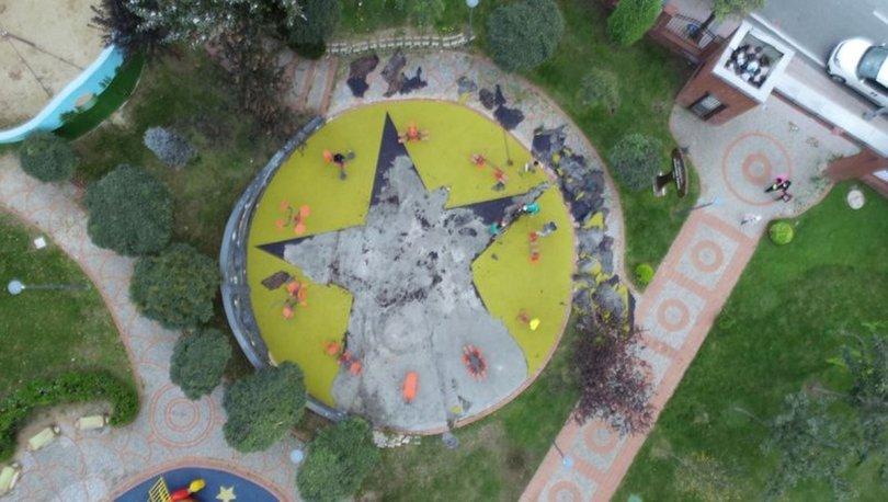 Son dakika: Küçükçekmece'deki parkta terör semblü soruşturması!