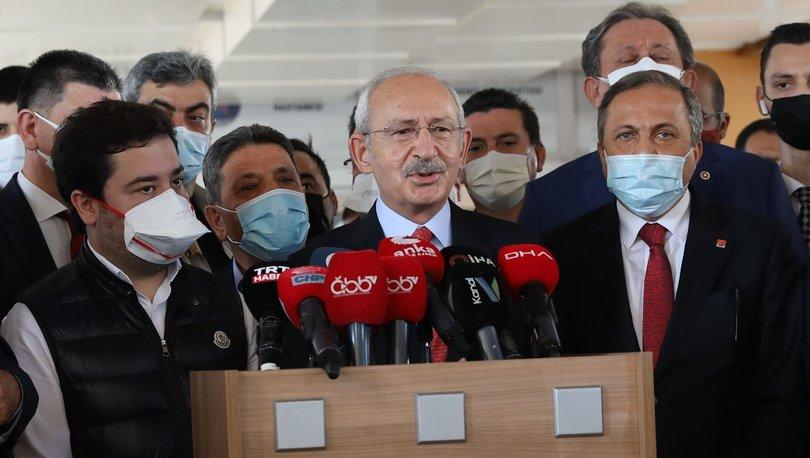 Son dakika: Kılıçdaroğlu, Başkan Böcek'i hastanede ziyaret etti - Haberler