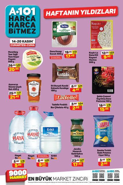 A101 14-20 Kasım 2020 Aktüel ürünler kataloğu! A101'de bu hafta indirimli ürünler listesi