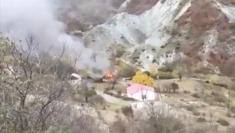 SON DAKİKA Kelbecer'i terk eden Ermeniler evleri ve ormanları yakıyor - Haberler