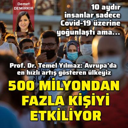 Son dakika! Koronavirüse dalıp bu hastalığı unutmayın! Türkiye'de rakamlar korkutucu boyutta! - Haberler