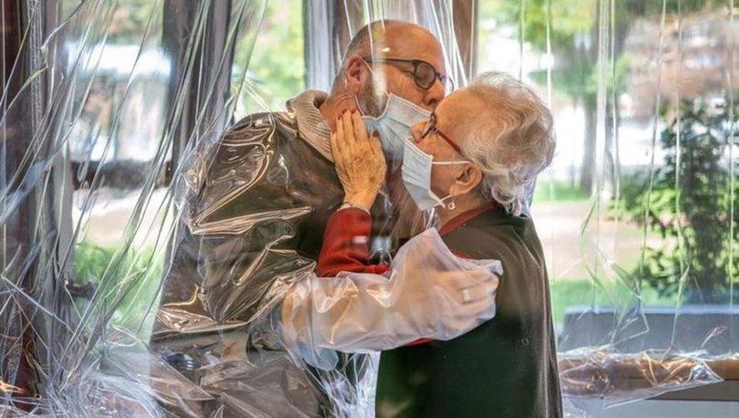 Son dakika dünya haberleri: Koronavirüse karşı 'sarılma odası' yaptılar