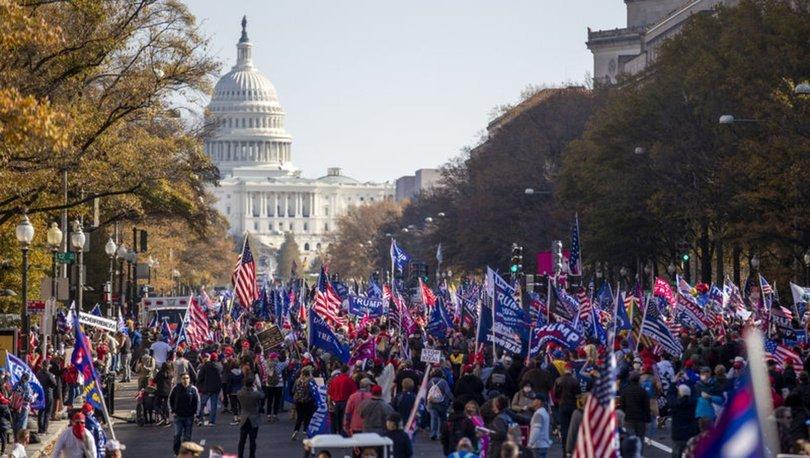 Son dakika ABD seçimleri! Washington'da 'milyon MAGA' gösterileri! Olaylar çıktı!