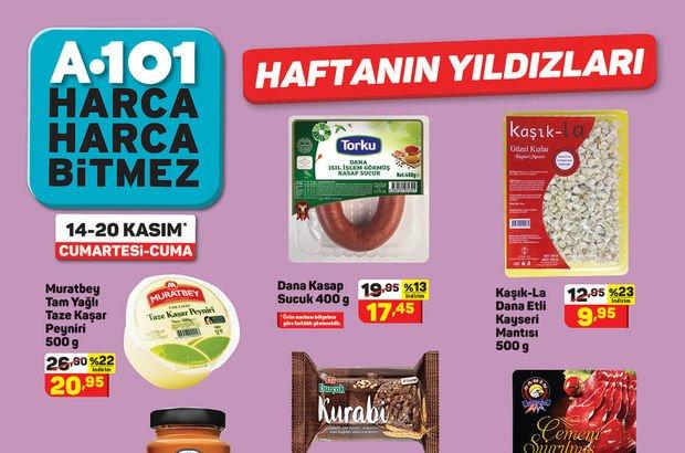 A101 14 Kasım haftanın indirimli ürünleri