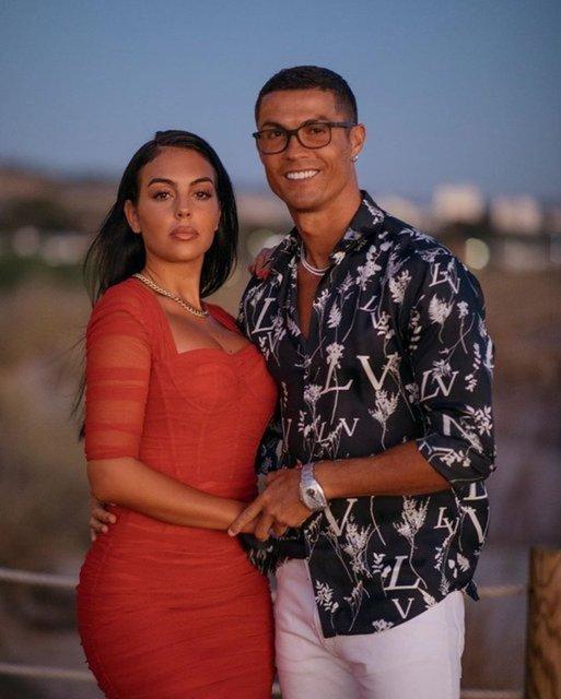 Cristiano Ronaldo ve Georgina Rodriguez'in kızı üç yaşına bastı - Magazin haberleri