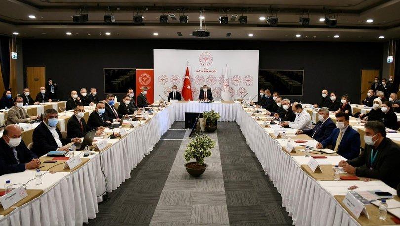 Son dakika: İstanbul'da Kovid-19 (Koronavirüs) toplantısı yapıldı