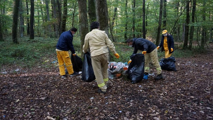 Son dakika haberi.. Belgrad 'Çöplüğü'! Tam 30 ton toplandı