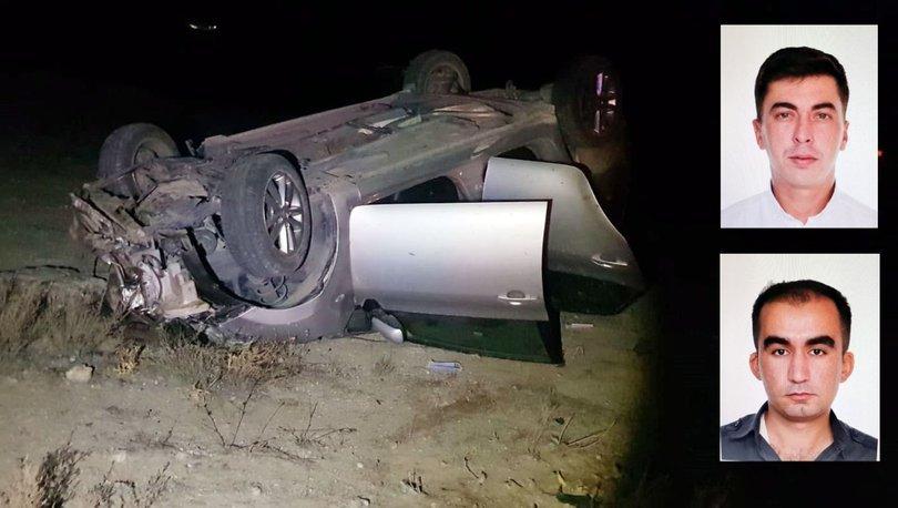 Son dakika: Yozgat'ta feci kaza! İki polis hayatını kaybetti - Haberler
