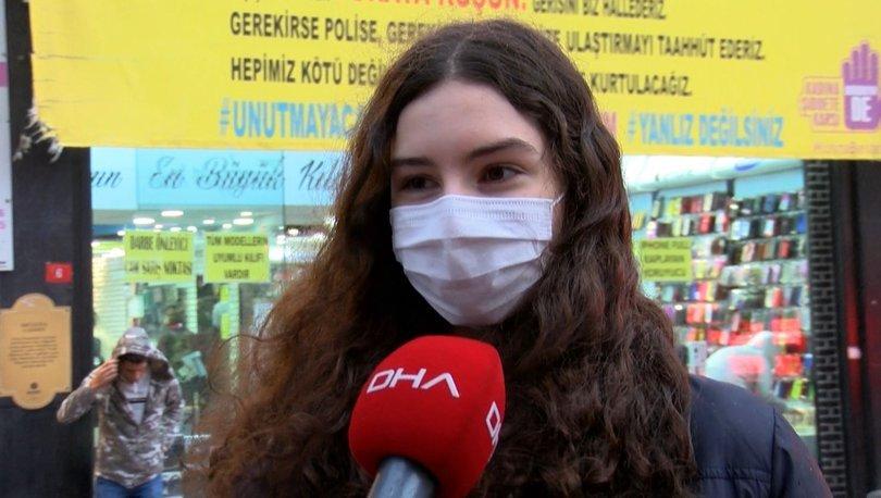Kadına şiddete karşı dikkat çeken afiş! - Haberler