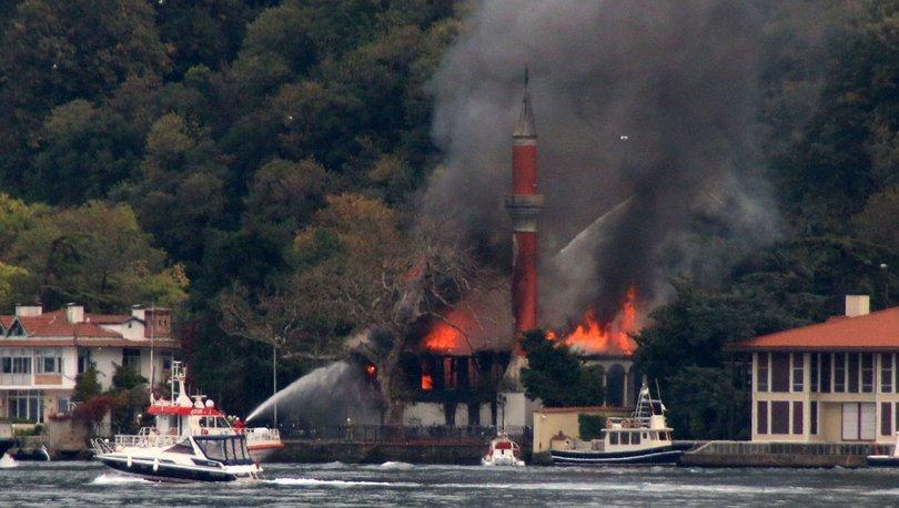 Son dakika yangın! Çengelköy'de Vaniköy Camisi'nde yangın çıktı! - Haberler