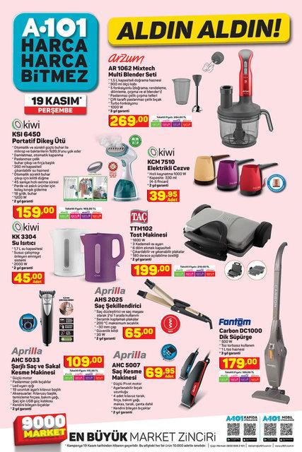 A101 BİM aktüel ürünler kataloğu! 19-20 Kasım A101 BİM aktüel ürünler kataloğu! Tam liste yayında