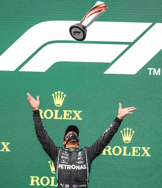 Hamilton, Schumacher'i İstanbul'da yakaladı - Haberler