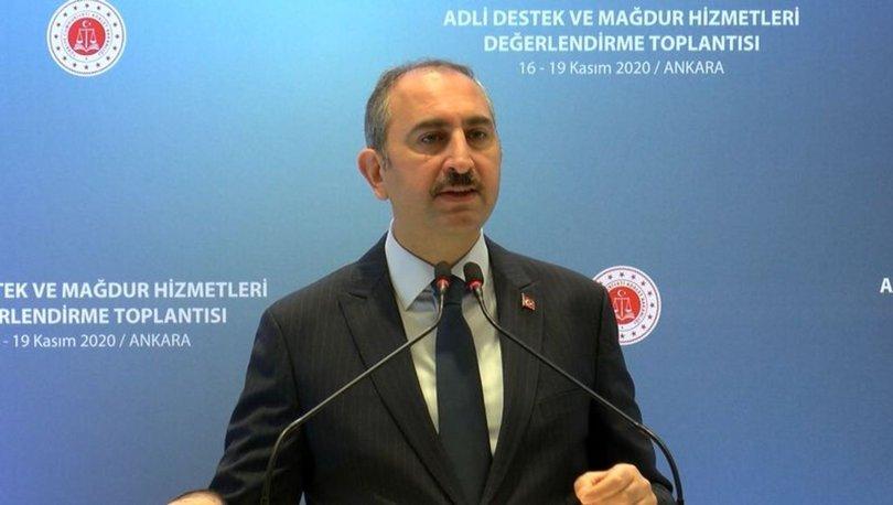 Son dakika! Adalet Bakanı Gül'den kritik mesajlar!