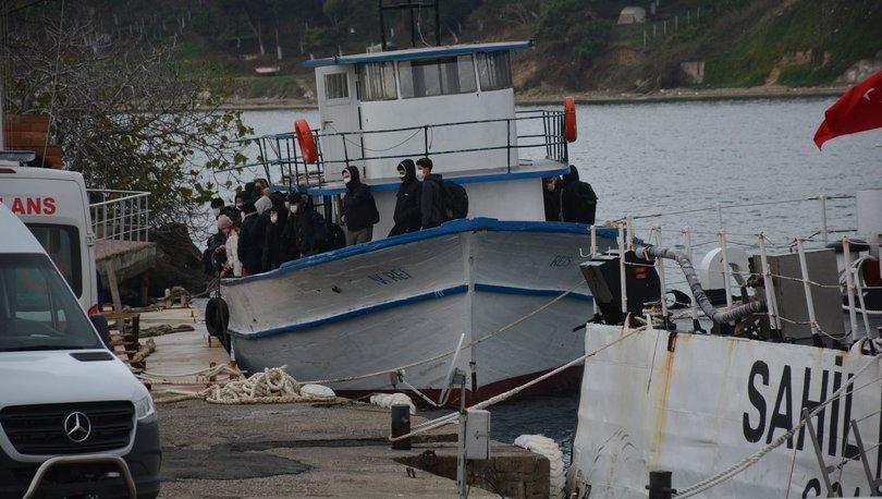 Son dakika: Tekneleri arıza yapınca yakalandılar! - Haberler
