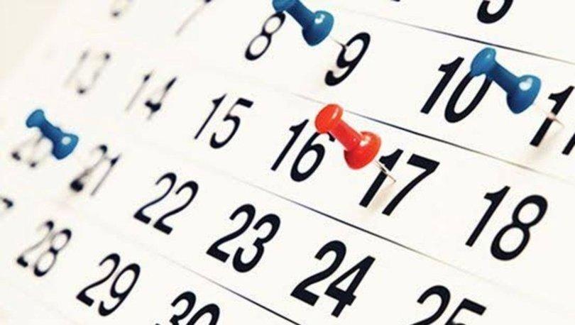 2021 yılbaşı hangi güne denk geliyor? 2021 resmi tatil günleri